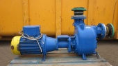 Pump including electromotor